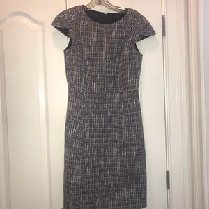 JCrew Tweed Dress Size 0 EUC